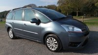 USED 2008 08 CITROEN C4 GRAND PICASSO 1.6 VTR PLUS HDI EGS 5d AUTO 110 BHP 7 SEATER, AIR-CONDITIONING, PADDLE SHIFT, REMOTE LOCKING, ALLOYS, ELECTRIC WINDOWS, CLEAN EXAMPLE, ELECTRIC MIRRORS,