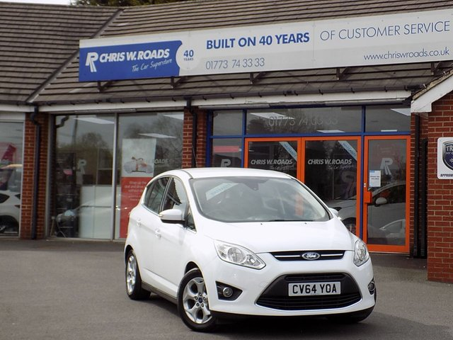 USED 2014 64 FORD C-MAX 1.6 ZETEC TDCI 5dr ** ONLY 12000 MILES **