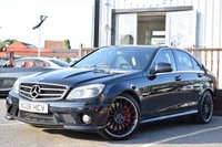 USED 2008 08 MERCEDES-BENZ C CLASS 6.2 C63 AMG 4d AUTO 451 BHP FSH,SUNROOF,HEATED SEATS,FRONT+REAR PARKING SENSORS.