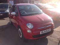 USED 2014 14 FIAT 500 1.2 COLOUR THERAPY 3d 69 BHP Great fun 500, one owner from new, superb.