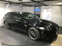 USED 2015 15 JAGUAR XF 2.2 D R-SPORT BLACK SPORTBRAKE 5d AUTO 200 BHP Bluetooth : Satellite Navigation   :   DAB Radio   :   Full leather upholstery   :   Heated front screen   :   Heated front seats   :   Electric driver and passenger seats   :   Paddleshift controls   :   Electrically adjustable steering wheel   :   Remotely operated tailgate   :   Rear view camera   :   Front and rear parking sensors   :   Full Jaguar service history