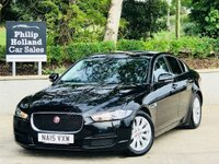 USED 2015 15 JAGUAR XE 2.0 SE 4d 161 BHP Sat Nav, Full Jaguar service history, Rear parking sensors
