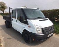 2014 FORD TRANSIT 350 DRW £10995.00