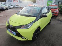 USED 2016 16 TOYOTA AYGO 1.0 VVT-I X-CITE 3 5d 69 BHP BUY NOW PAY NEXT YEAR!!...1 OWNER FROM NEW... LOW MILEAGE... JUST ARRIVED... NEW SHAPE