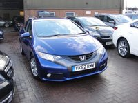 USED 2012 62 HONDA CIVIC 1.8 I-VTEC ES-T 5d 140 BHP ANY PART EXCHANGE WELCOME, COUNTRY WIDE DELIVERY ARRANGED, HUGE SPEC