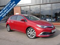 USED 2016 S TOYOTA AURIS 1.8 VVT-I EXCEL 5d AUTO 99 BHP HYBRID ONE FORMER KEEPER FROM NEW WITH SERVICE HISTORY