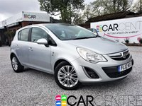 USED 2012 12 VAUXHALL CORSA 1.4 SE 5d 98 BHP 1 PREVIOUS OWNER +FULL SERVICE