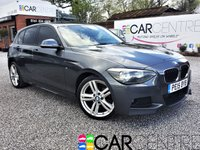 USED 2015 15 BMW 1 SERIES 2.0 118D M SPORT 5d AUTO 141 BHP 1 OWNER + FULL BMW SERVICE