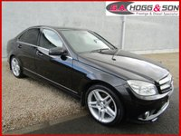 2009 MERCEDES-BENZ C CLASS 2.1 C220 CDI SPORT 4dr AUTO 168 BHP LOCAL LADY OWNER £SOLD
