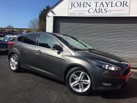 2015 FORD FOCUS 1.5 ZETEC TDCI 5d 118 BHP MASSIVE SPECIFICATION, VERY ECONOMICAL AND ZERO ROAD TAX + ZERO EMISSIONS CHARGE  £8995.00