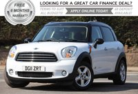 2011 MINI COUNTRYMAN 1.6 COOPER D ALL4 5d 112 BHP £8995.00