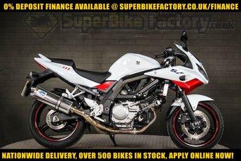 2013 13 SUZUKI SV650S 650CC 0% DEPOSIT FINANCE AVAILABLE £2991.00
