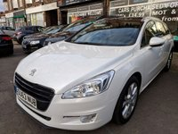 2013 PEUGEOT 508 1.6 E-HDI SW ACTIVE NAVIGATION VERSION 5d AUTO 115 BHP £6990.00