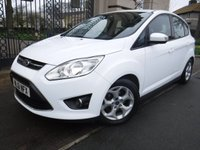 USED 2011 61 FORD C-MAX 1.6 ZETEC 5d 104 BHP *** FINANCE & PART EXCHANGE WELCOME *** AIR/CON HEATED FRONT WINDSCREEN BLUETOOTH PHONE DAB RADIO PARKING SENSORS