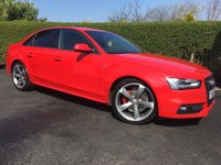 2013 AUDI A4 2.0 TDI QUATTRO S LINE BLACK EDITION 4d 174 BHP, LOW MILEAGE, STUNNING CONDITION THROUGHOUT £SOLD