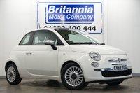 2012 FIAT 500 1.2 MULTIJET DIESEL LOUNGE 3 DOOR 95 BHP £4690.00