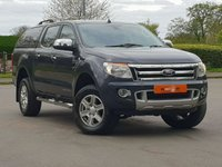 2012 FORD RANGER 3.2 TDCi Limited Double Cab Pickup 4x4 4dr (EU5) £15950.00