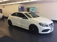 USED 2016 16 MERCEDES-BENZ A CLASS 1.5 A 180 D AMG LINE 5d AUTO 107 BHP 1 OWNER, GREAT SPEC INCLUDING SAT NAV, REAR CAMERA, APPLE PLAY