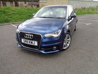 USED 2011 11 AUDI A1 1.6 TDI S LINE 3d 103 BHP FANTASTIC SECIFICATION