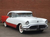 1956 OLDSMOBILE 98HOLIDAY PILLERLESS COUPE 98 holiday pillar less coupe £29500.00