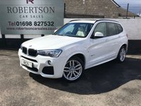 USED 2015 15 BMW X3 2.0 XDRIVE20D M SPORT 5dR AUTO GREAT COLOUR COMBINATION