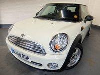 2009 MINI HATCH ONE 1.4 ONE 3d 94 BHP £2490.00