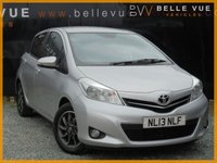 USED 2013 13 TOYOTA YARIS 1.0 VVT-I EDITION 5d 70 BHP *ONLY 32K MILES, STUNNING CAR*