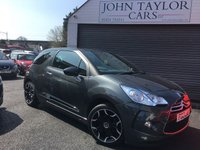 2013 CITROEN DS3 1.6 E-HDI DSTYLE 3d 90 BHP, VERY ECONOMICAL ZERO ROAD TAX + EMISSIONS CHARGES  £SOLD