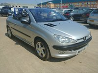 USED 2002 51 PEUGEOT 206 1.6 COUPE CABRIOLET S 2d 110 BHP