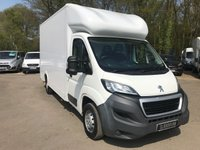2015 PEUGEOT BOXER 2.2 HDI 335 L3 LOW LOADER £8495.00