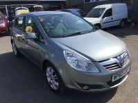 2011 VAUXHALL CORSA 1.4 SE 5 DOOR AUTOMATIC 98 BHP IN METALLIC GREY WITH ONLY 17000 MILES AND A FULL SERVICE HISTORY £6490.00