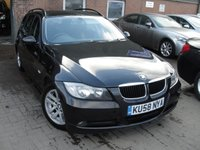 USED 2008 58 BMW 3 SERIES 2.0 320D ES TOURING 5d 175 BHP ANY PART EXCHANGE WELCOME, COUNTRY WIDE DELIVERY ARRANGED, HUGE SPEC