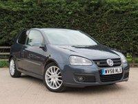 2008 VOLKSWAGEN GOLF 2.0 GT SPORT TDI 3d 138 BHP £2000.00