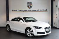USED 2010 59 AUDI TT 2.0 TDI QUATTRO 3DR 170 BHP + HALF BLACK LEATHER INTERIOR + FULL SERVICE HISTORY + SPORT SEATS + DAB RADIO + HEATED MIRRORS + AUXILIARY PORT + 17 INCH ALLOY WHEELS +