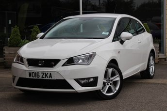 2016 16 SEAT IBIZA 12 TSI FR TECHNOLOGY 3d 89 BHP NORTREE APPROVED USED VEHICLE
