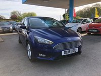 USED 2016 16 FORD FOCUS 1.0 ZETEC 5d 124 BHP