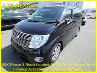 USED 2007 57 NISSAN ELGRAND  Highway Star 3.5 4WD Phase 3 Black Leather Edition, Automatic,8 Seats,Only 61k +PHASE 3 H/S BLACK LEATHER ED+
