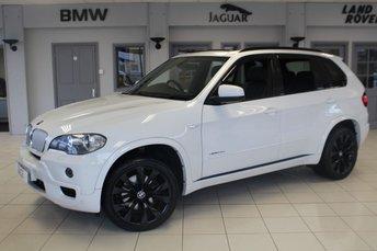 2010 BMW X5 3.0 XDRIVE35D M SPORT 5d 282 BHP £15970.00