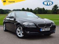 2013 BMW 5 SERIES 2.0 520D EFFICIENTDYNAMICS 4d 181 BHP £9999.00