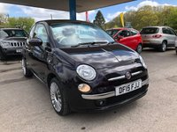 2015 FIAT 500 1.2 LOUNGE 3d 69 BHP £7999.00