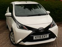 USED 2015 15 TOYOTA AYGO 1.0 VVT-I X-PLAY 5d 69 BHP £FREE ROAD TAX!! NEED FINANCE ?  POOR CREDIT WE CAN HELP! JUST ASK ! 50+ MPG IN DAY TO DAY DRIVING!!