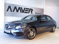 USED 2014 64 MERCEDES-BENZ E CLASS 2.1 E220 CDI AMG SPORT 4d AUTO 168 BHP
