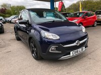 2016 VAUXHALL ADAM 1.4 ROCKS AIR 3d 85 BHP £9999.00