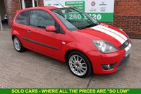 USED 2008 08 FORD FIESTA 1.6 ZETEC S 16V 3d 100 BHP +Just Serviced +ZETEC S MODEL.