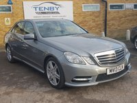 USED 2013 13 MERCEDES-BENZ E CLASS 2.1 E250 CDI BLUEEFFICIENCY SPORT 4d 204 BHP