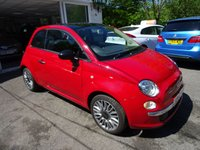 USED 2014 64 FIAT 500 1.2 CULT 3d 69 BHP Very Low Mileage! One Lady Owner from new, Fiat Service History + Just Serviced by ourselves, Minimum 9 months MOT, Great on fuel economy! Only £30 Road Tax!