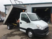 2012 IVECO DAILY 130BHP 12FT DROPSIDE TIPPER ULTRA LOW 33K MILES YES! 33K £9995.00