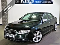 USED 2007 07 AUDI A4 3.0 TDI QUATTRO DPF S LINE 4dr AUTO  4x4, 59,212 Miles ONLY!, Full Leather, FULL Audi Service History