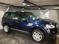 USED 2008 08 LAND ROVER FREELANDER 2.2 TD4 HSE 5d 159 BHP Bluetooth : Satellite Navigation   :   Electric sunroof   :   Full leather upholstery   :   Heated front seats : Electric driver and passenger seats   :   Hill descent control   :   Terrain response system : Front and rear parking sensors   :   Comprehensive service history
