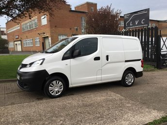 2015 NISSAN NV200 1.5 DCI ACENTA 90 BHP. VERY LOW 43,078 MILES. FSH. CLEAN VAN. £6450.00